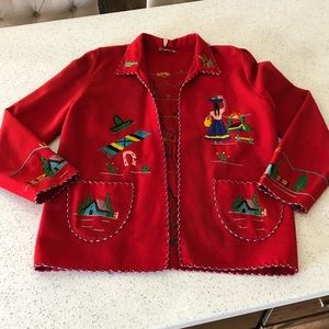 Vintage 50's Mexican jacket by LOPEZ